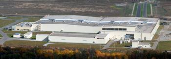 2011年に操業を開始したロシアのタイヤ工場の写真