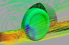 低燃費、耐摩耗、ウェットグリップを同時に高める「ナノブレンドゴム」の分子構造イメージの図
